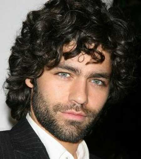 Brilliant Men Haircuts For Curly Hair Mens Hairstyles 2016 Hairstyles For Women Draintrainus