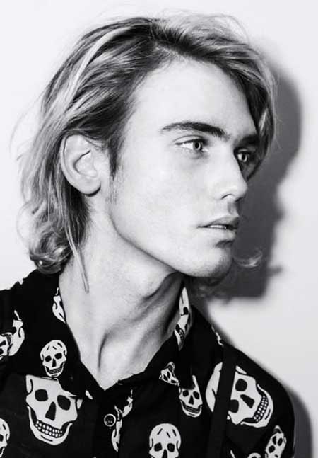 Cool Shaggy Blonde Long Hairstyle