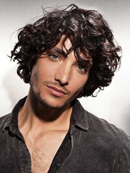 Admirable Men Haircuts For Curly Hair Mens Hairstyles 2016 Hairstyles For Men Maxibearus