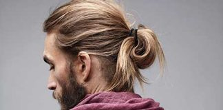 Long Blonde Ponytailed Hairstyle