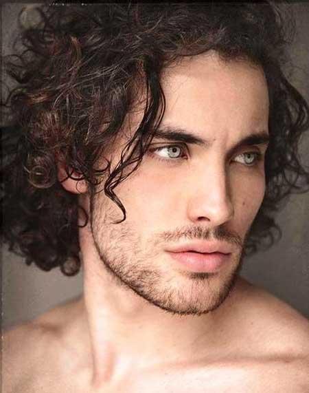 Strange Men Haircuts For Curly Hair Mens Hairstyles 2016 Short Hairstyles Gunalazisus
