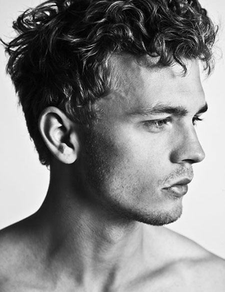Super Cool Curly Hairstyles For Men Mens Hairstyles 2016 Short Hairstyles Gunalazisus