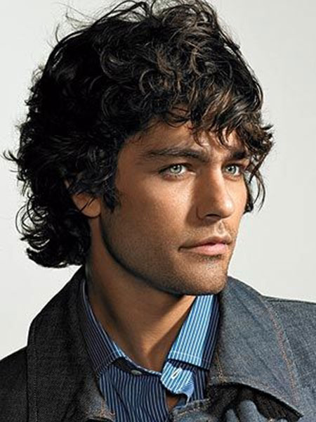 Short Wavy Hairstyles for Men_12