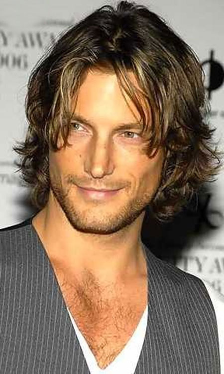 Mens Long Wavy Hairstyles 2013 Also Image Of Mens Virtual Hairstyles