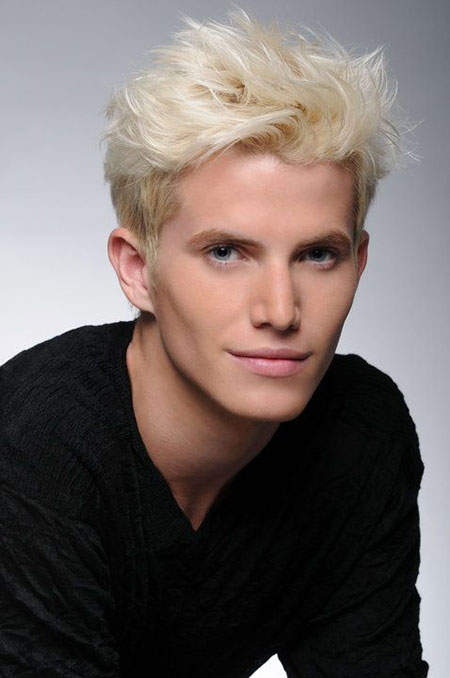19 Cool Blonde Men Hairstyle_2