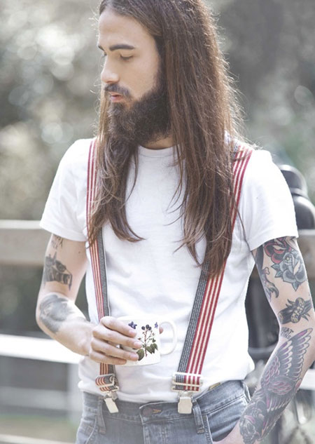 25 Best Long Hairstyles for Men_13