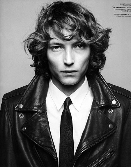 Curly Hair Styles Men_13