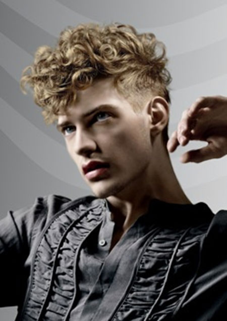 Mens Curly Hairstyles 2014_13