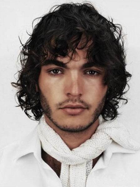 Mens Curly Hairstyles 2014_17