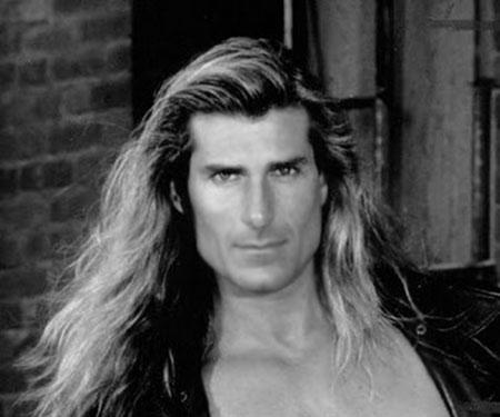Wavy Blonde Hair Man Very Long Wavy Blonde Hair