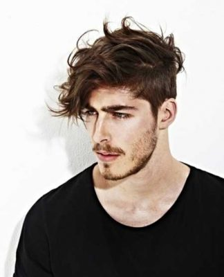 Messy Mens Hairstyles