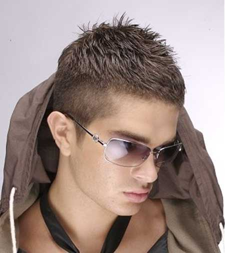 Nice Short Hairstyles for Men_10