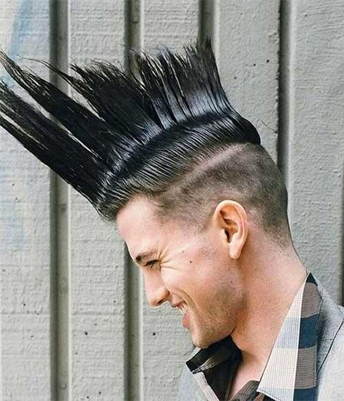 Astounding Men Mohawk Hairstyle Mens Hairstyles 2016 Hairstyles For Men Maxibearus