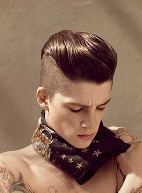 Mohawk Hairstyle Men