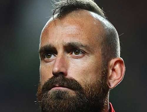 Raul Meireles Cool Hairstyles