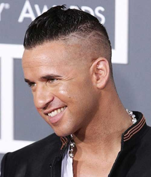 Short Shaved Mohawk Style for Men