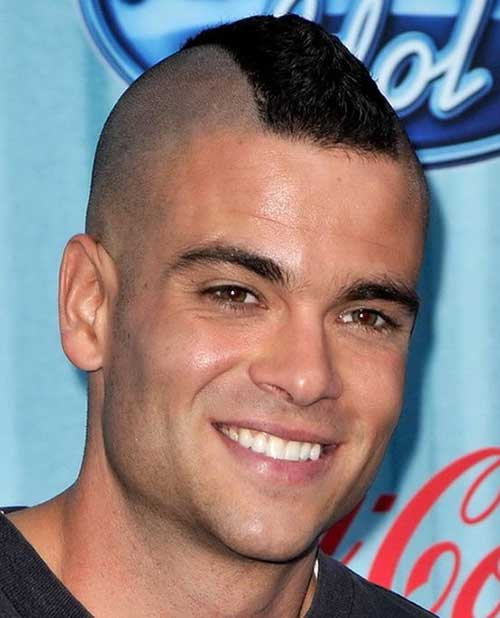 Super Short Mohawk Hairstyles for Men