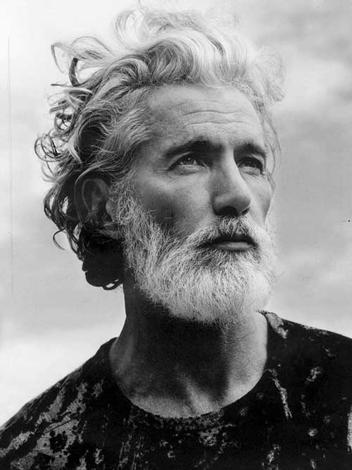 Aiden Shaw Hairstyle for Older Men
