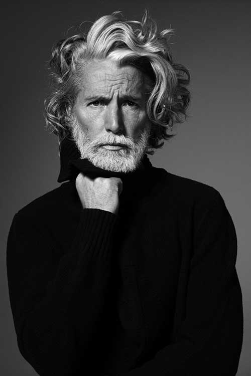 Aiden Shaw Hairstyle for Long Hair Men