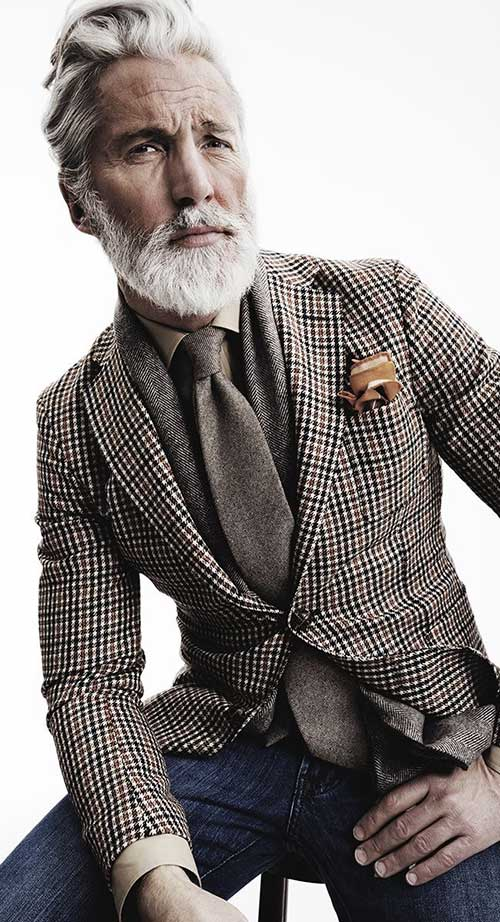 Aiden Shaw Older Mens Hairstyles