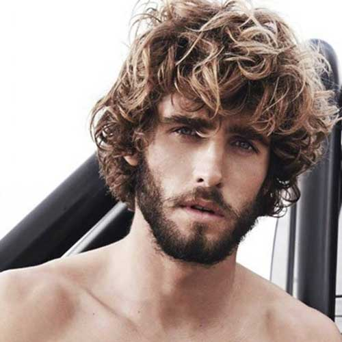 Alex Libby Curly Hairstyle