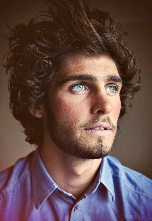 10 Curly Haired Guys The Best Mens Hairstyles Amp Haircuts