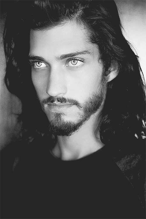 Andres Risso Long Hairstyle for Men