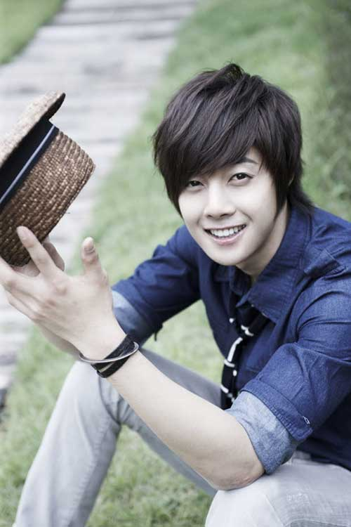 Kim Hyun-joong Asian Haircut Men