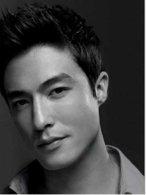 Daniel Henney Asian Men Short Hairstyles