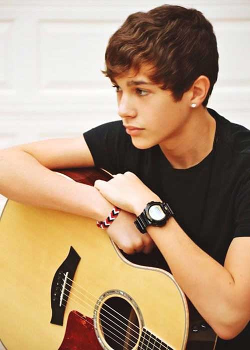 Austin Mahone Wavy Hair for Boys