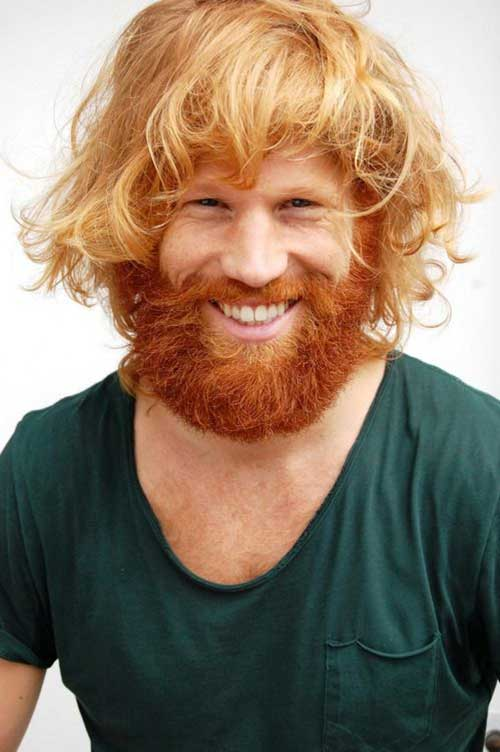 Best Hair Colour for Men with Ginger Beard