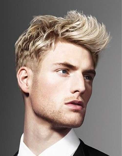 Blonde Male Hair Styles 86