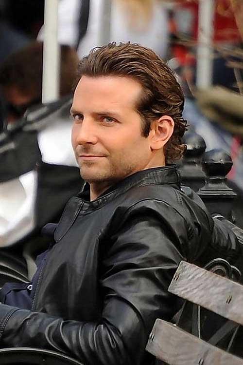 Bradley Cooper Wavy Hairstyles