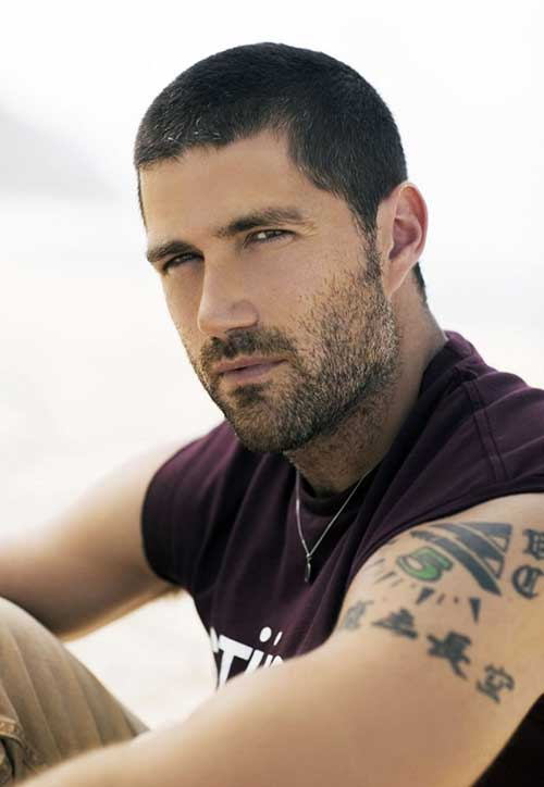 Matthew Fox Celebrity Male Hairstyles