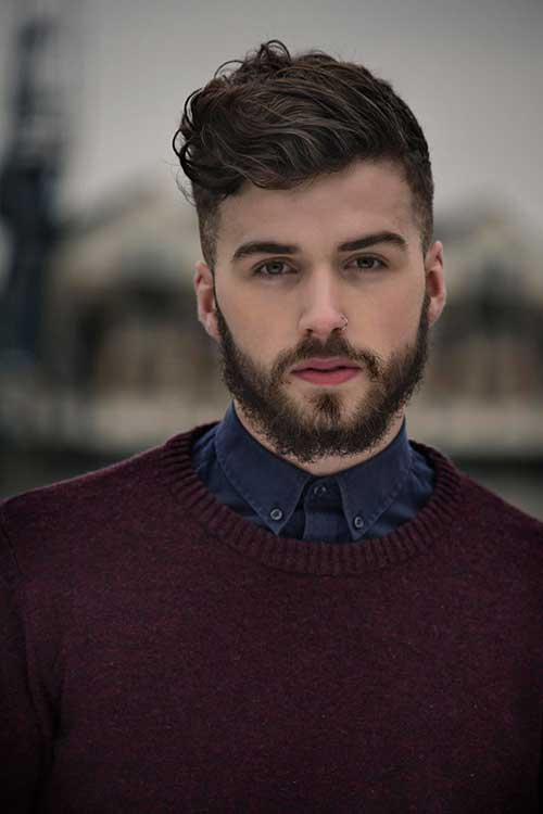 Charlie Winzar Hair Thick Wavy for Men