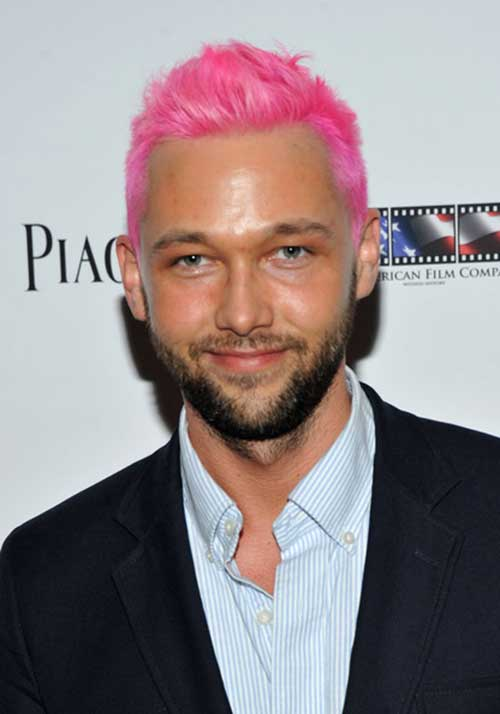 Chris Benz Pink Hair Color Idea
