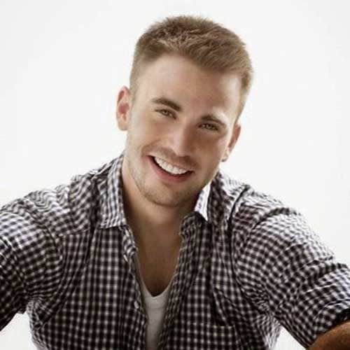 Chris Evans Mens Short Haircut Styles