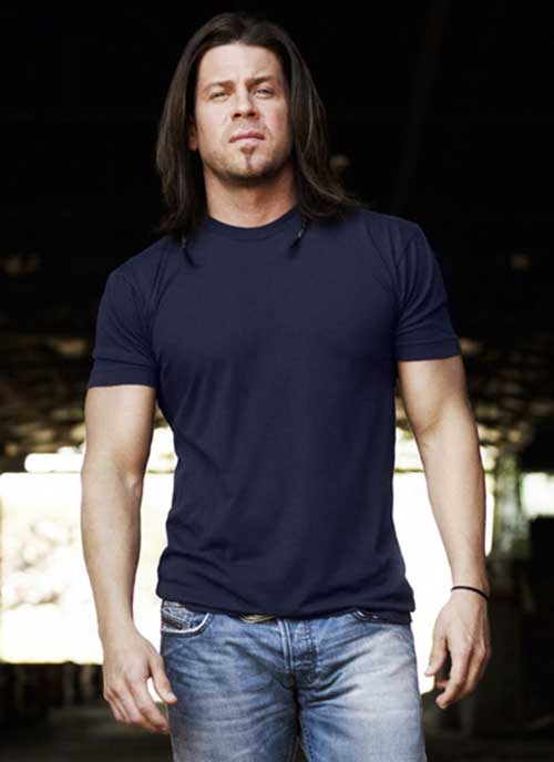 Christian Kane Long Hair Men