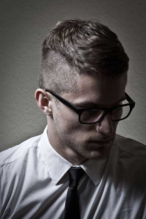 Cool Men Shaved Hairstyles