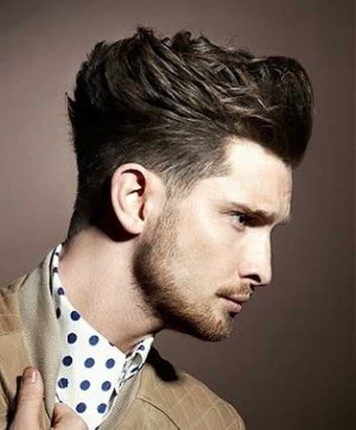 High Quality Popular Messy Haircut For Men 2015