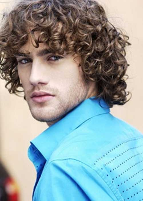 Fabulous 15 Curly Men Hair Mens Hairstyles 2016 Hairstyles For Women Draintrainus