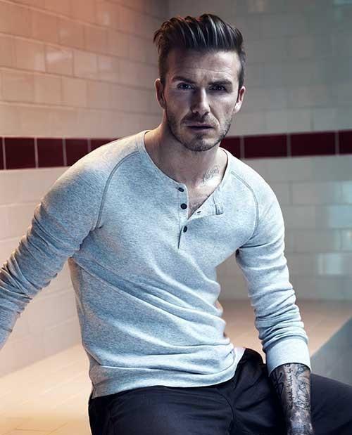 David Beckham Modern Hairstyles