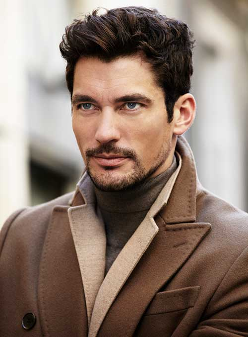 David Gandy Layered Hairstyles