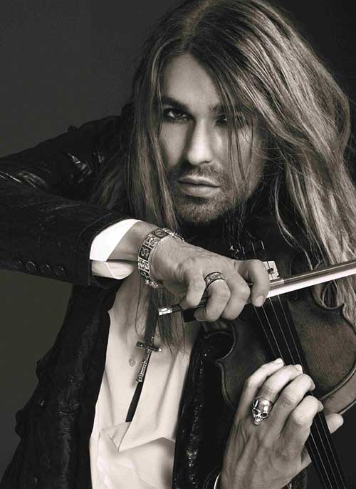 David Garrett Long Hairstyles for Men