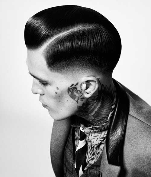 Different Slick Back Hairstyles for Men