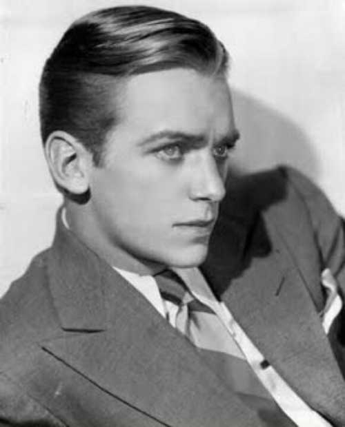 Douglas Fairbanks Jr. Slicked Back Hair