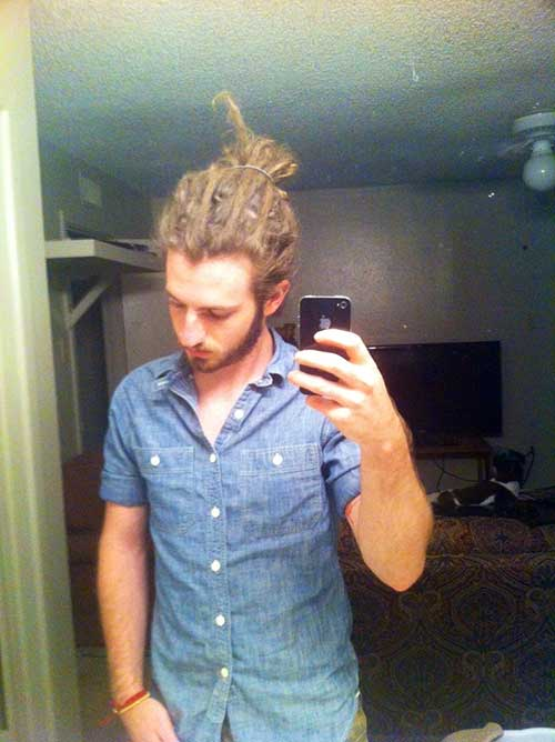Dreadlock Bun for Men