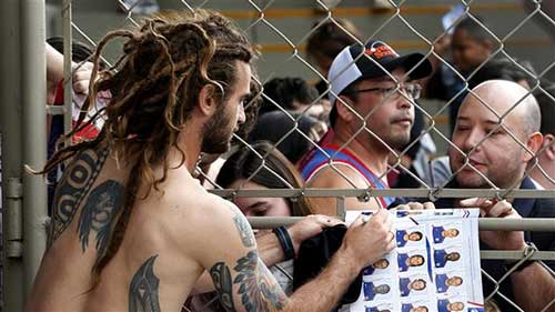 Kyle Beckerman Dreadlock for White Men Hairstyles