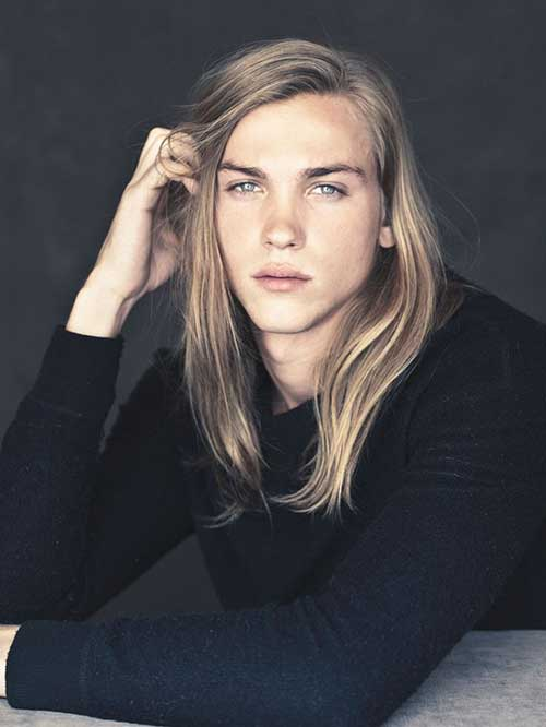 Emil Andersson Long Hairstyles for Men 2015