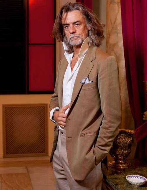 Gelasio Gaetani d'Aragona Lovatelli Hairstyle